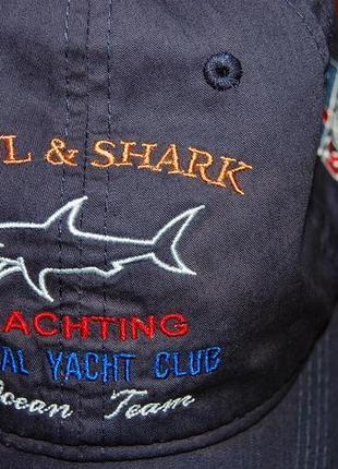 Кепка бейсболка paul shark yachting royal yacht club ocean team , на окр. до 61 см.