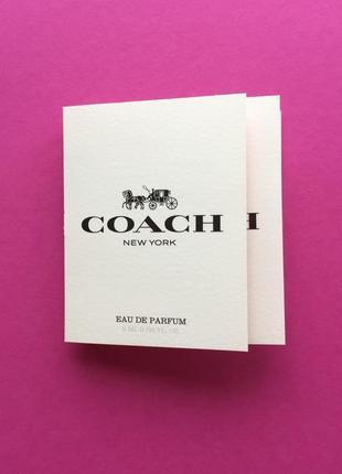 Coach coach the fragrance edp(пробник)