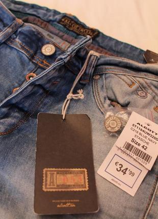 Новые стильные качественные джинсы итальянского бренда