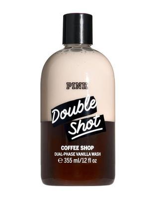 Двухфазный парфюмированный  гель для душа vanilla & coffe shop  от victoria's secret