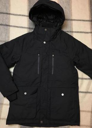 Тёплая зимняя куртка парка everest рост 146см.
