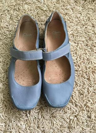 Туфли кожаные clark's