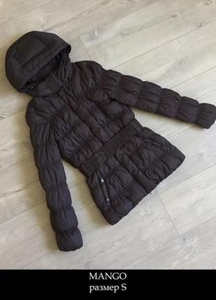 Теплая курточка mango