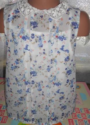 Блуза туника блузка george 7-8 лет р.128