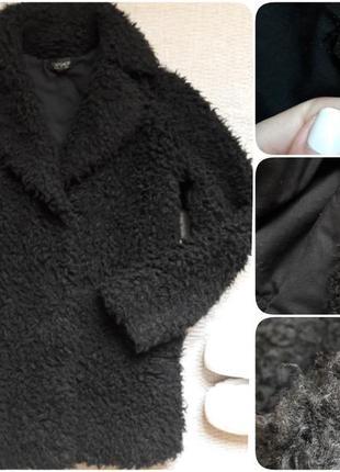 Шуба пальто из искусственного меха