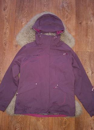 Горнолыжная куртка  пыльно фиолетового цвета mammut drytech