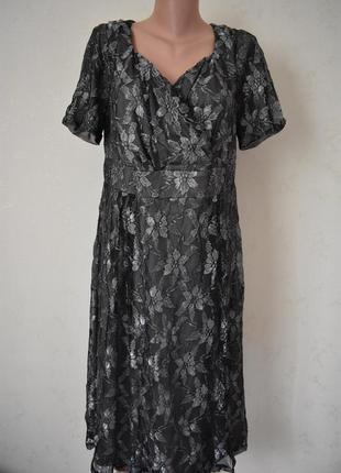 Новое нарядное красивое кружевное платье