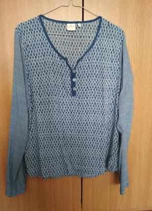 Летняя рубашка блуза blue motion