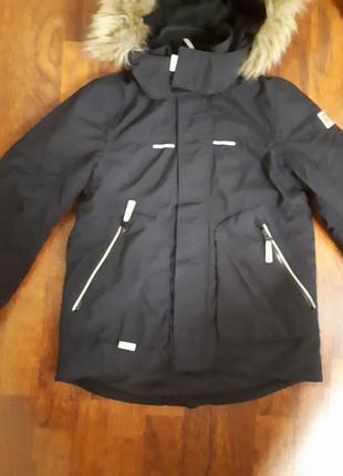 Зимняя куртка парка reima 134-140