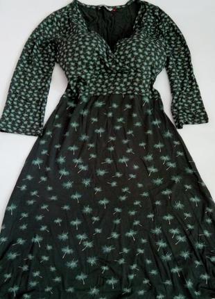 Платье миди 50 размер зеленое хаки бюстье офисное топ лук скидка распродажа