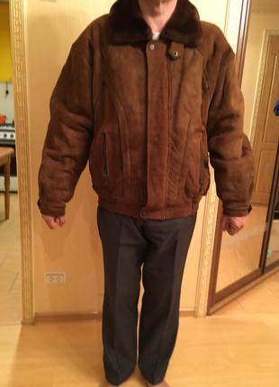 Дубленка-куртка мужская