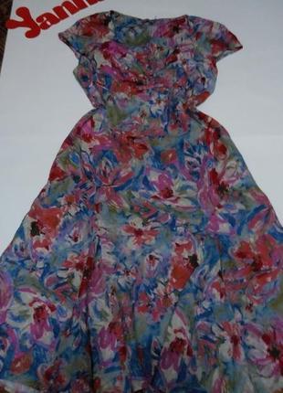 Платье миди лляное 52 54 размер бюстье сарафан топ лук скидка распродажа perlina