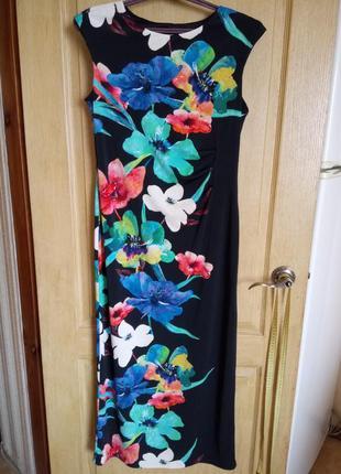 Красивое длинное платье roman