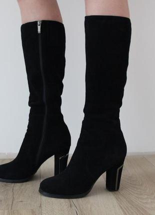 Зимові замшеві чоботи berloni 40 (26 - 26.5 см) зимние замшевые сапогиv1 ... 2fb13c964e684