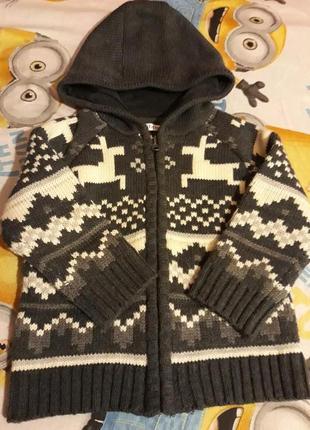 Теплый свитер 2-3 года