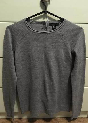 Джемпер/свитер серый/пуловер/кофта