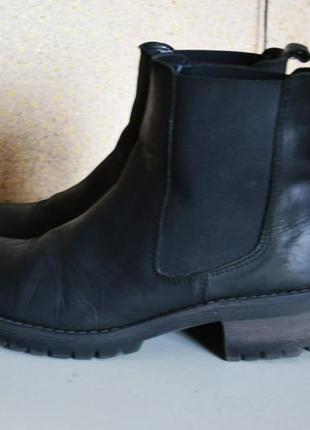 Roots ботинки челси кожаные
