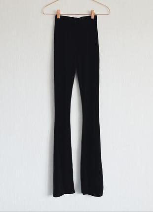 Кльошні штани з розрізами