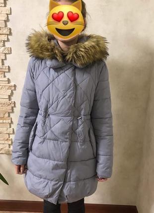 Тёплый зимний пуховик !зима куртка, парка  2018