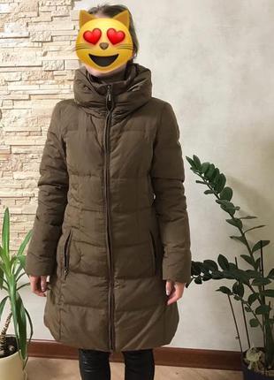 Парка пальто пуховик курточка хаки