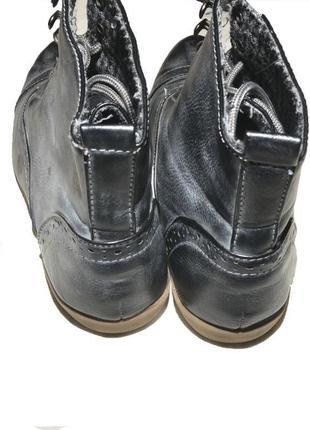 Ботинки осенние на шнуровке atmosphere3