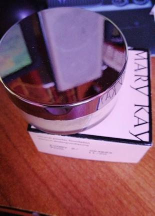 Минеральная пудра mary kay, цвет ivory 2, срок ноябрь 2020
