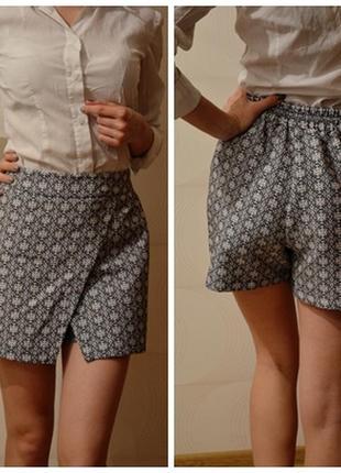 Очень крутые шорты-юбка