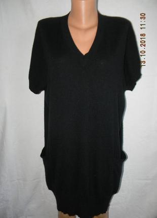 Платье-джемпер 100% кашемир