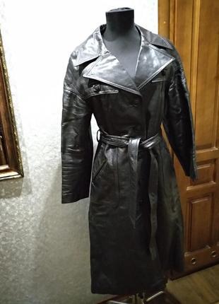 Пальто натуральна шкіра