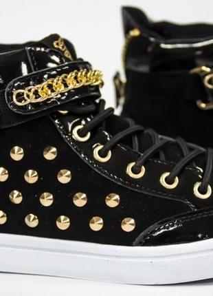 Кеды замшевые кроссовки сникерсы glitz&glam 24 см кеди шкіряні кросівки замшеві