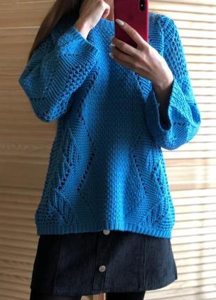Tu вязанный свитер