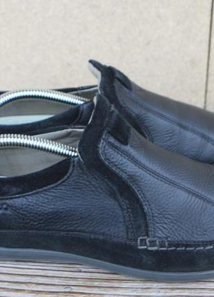 Слипоны ecco кожа 40р кеды кроссовки женские