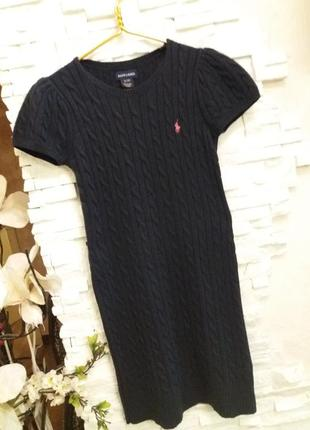 Ralph lauren вязаное платье