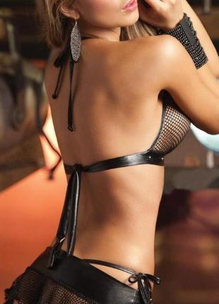 Шикарный соблазнительный костюм/эротический комплект белья/
