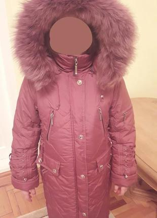 Пальто куртка 134р
