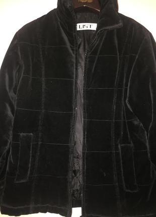 Велюровая куртка list