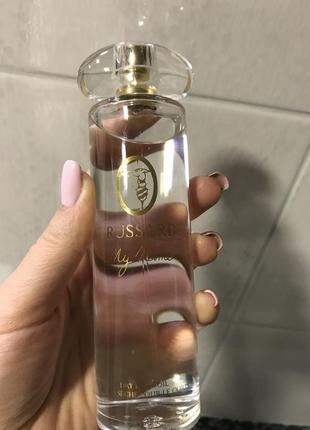 Сухое парфюмированное масло для тела trussardi
