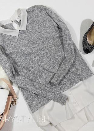 Блузка кофточка с шифоном