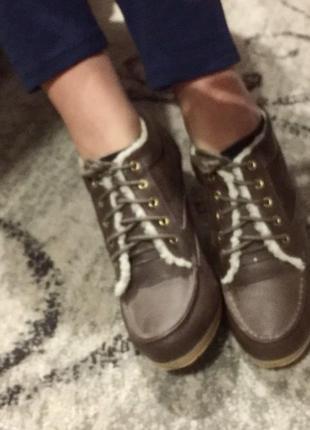 Ботильоны ботинки на каблуке oodji