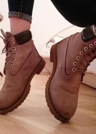Кожа. timberland (original), сапоги, ботинки, зима, 39р