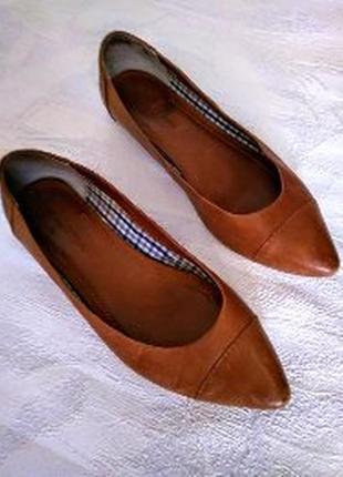 Marc o polo туфли балетки кожаные