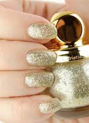 Лак для ногтей dior diorific vernis 001 state of gold