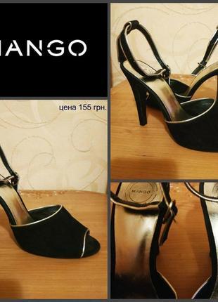 Туфли от mango, р. 38