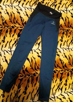 Очень крутые спортивные штаны-лосины crivit.размер 36-38(наш 42-44