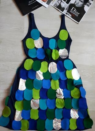 Оригинальное платье h&m / 2я вещь в подарок