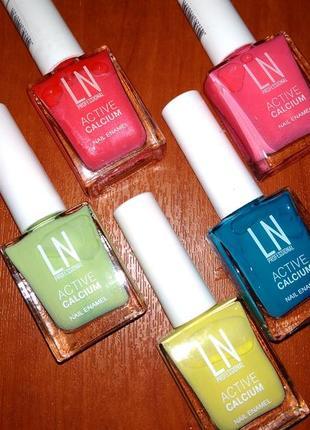 Новые лаки для ногтей: желтый, зеленый, синий, розовый