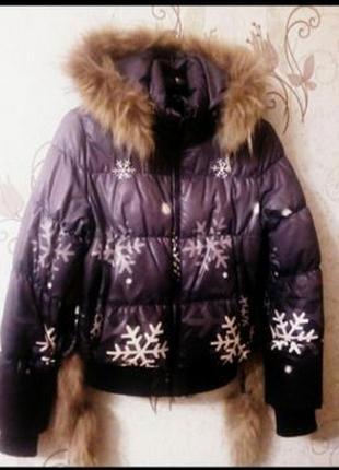 Пуховик куртка 42 44р.