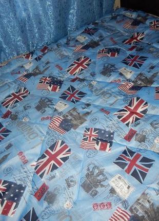 Одеялко теплое!евро размер!