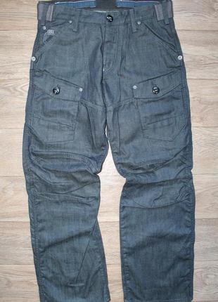 Оригинальные джинсы g-star raw storm elwood loose fit размер 32х32