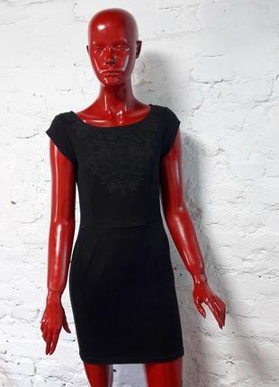 Черное платье от naf-naf